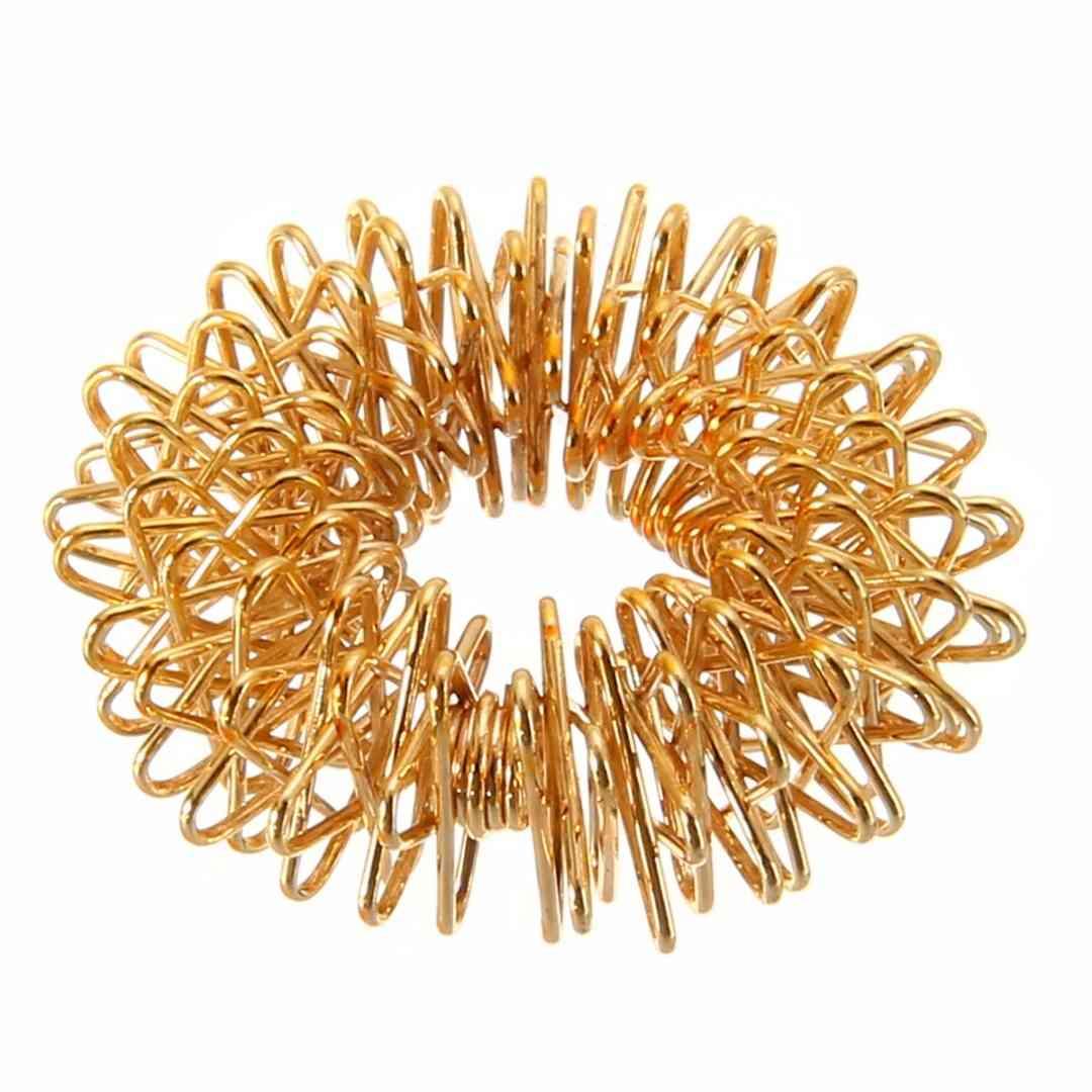 Spiky, Sensory Spring-finger Rings For Autism, Anti Stress