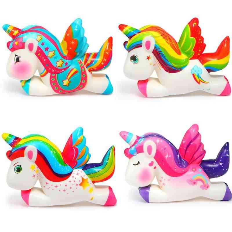 Unicorn Squishy, Slow Rising Toy- Stress Relief- Simulation Fun For Kid