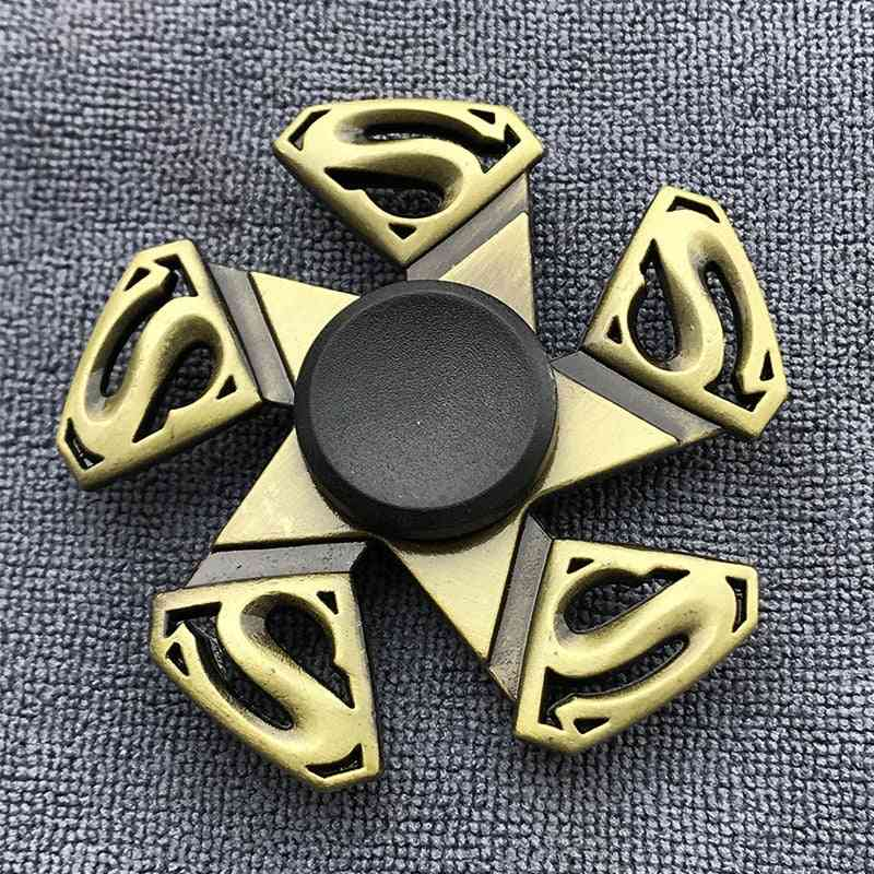 Bronze Finger Spinner Toy For Adults And