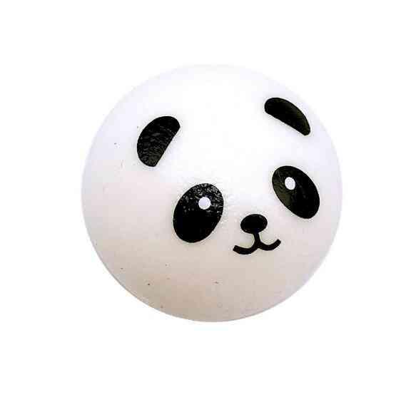 Squishy Panda Bun Stress Reliever Ball Slow Rising Decompression Keychain Kids