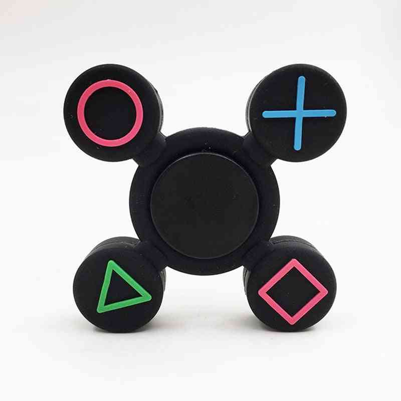 Button Fidget Spinner For Autism And Adhd Rotation Time Long Anti Stress