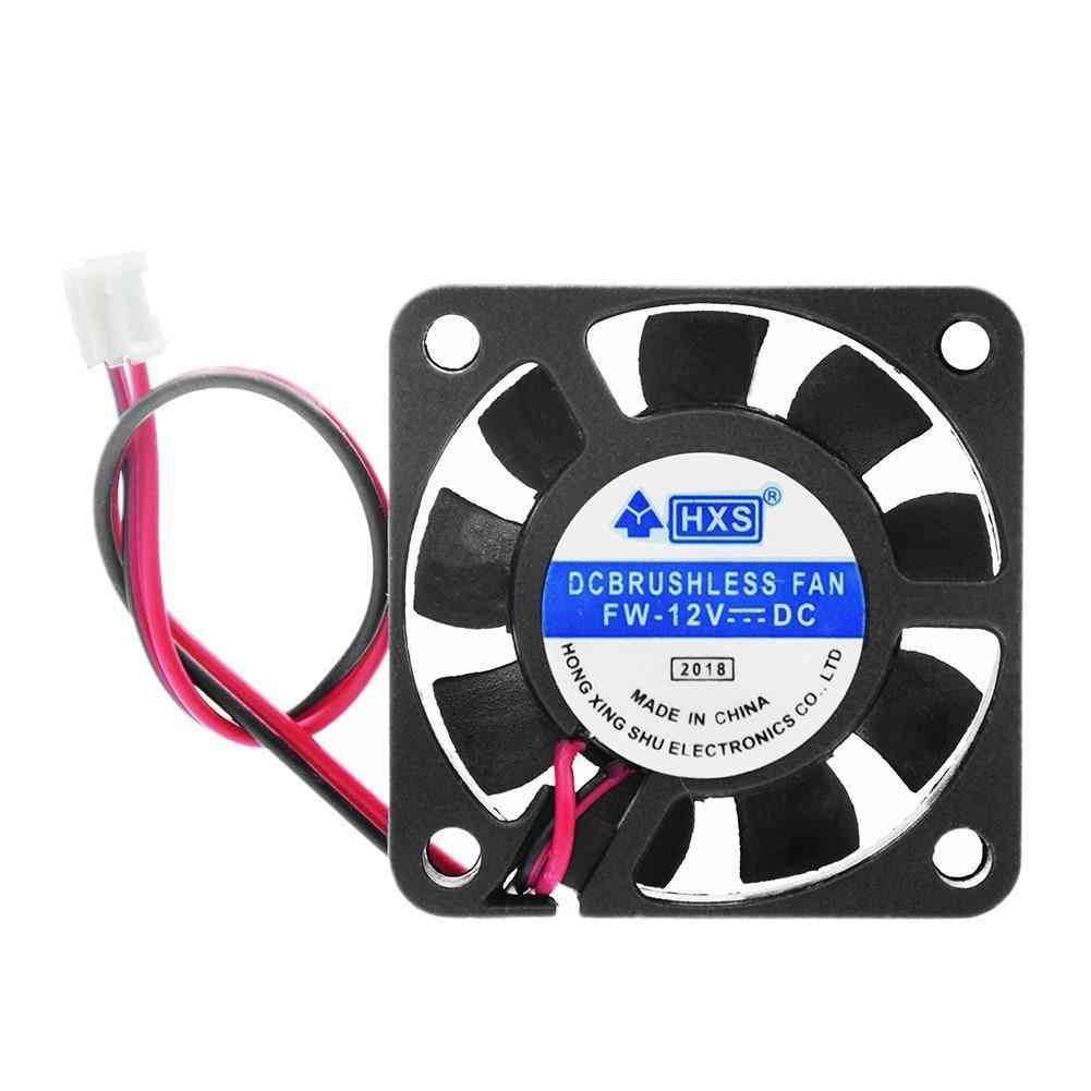 Dc 12v, 2 Pin Brushless Fan/air Exhaust Cooler For Computers