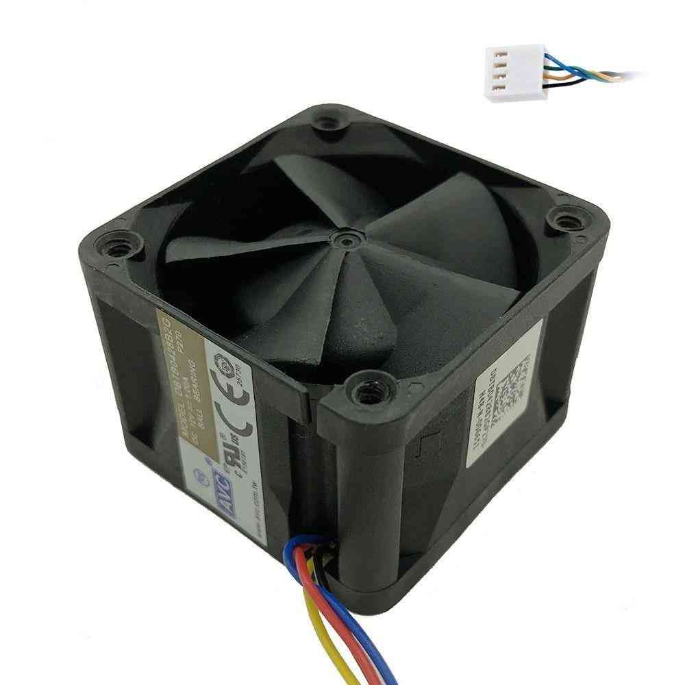12v, 1a High Speed Server Fans For Dual Ball Bearing, 4-wire 4pin Pwm