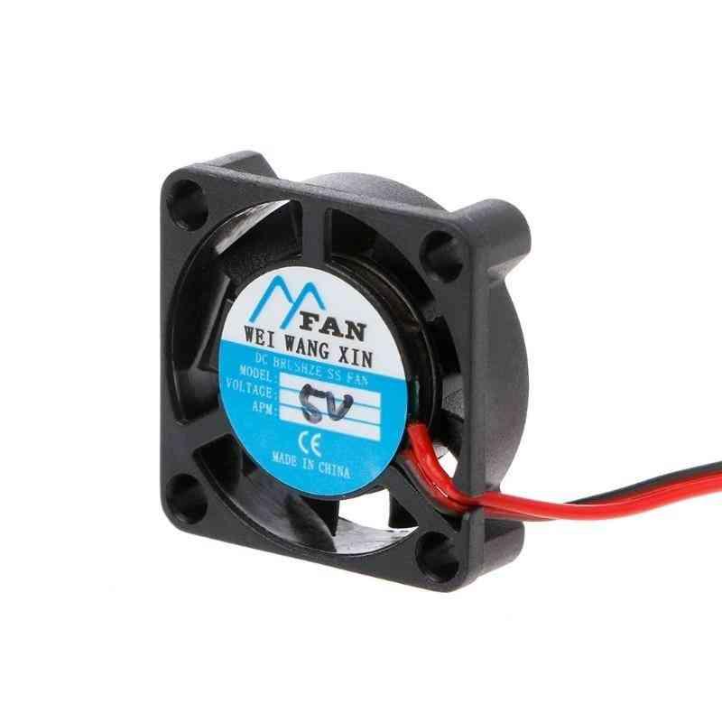 5v/12v, 2-pin-dc Brushless Mini Cooling Fan, Heatsink