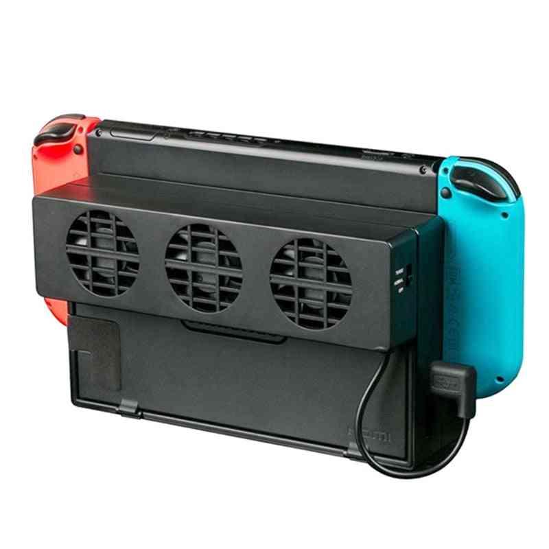 3 Cooling Fan Dock For Nintendo Switch-2 Speed Adjustable