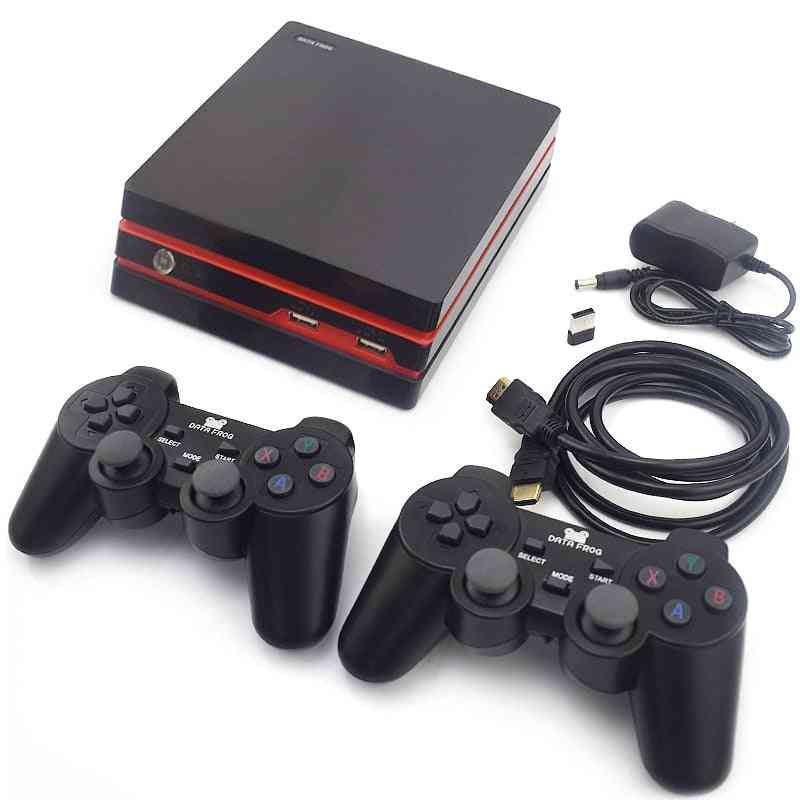 Video Game Console With 2.4g Wireless / Wired Gamepads