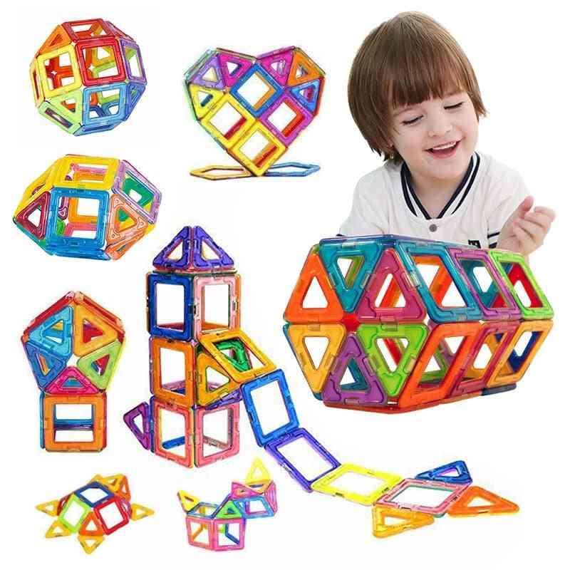 50pcs Magnetic Building Blocks, Educational Toy