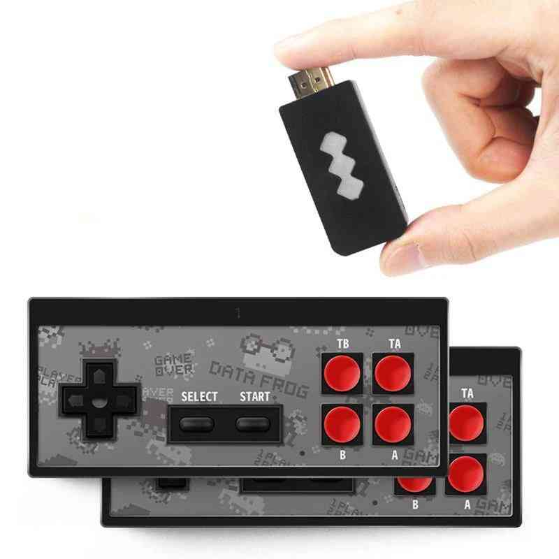 Wireless Handheld Tv Video Game Console With Stick Built In 568 Classic Game