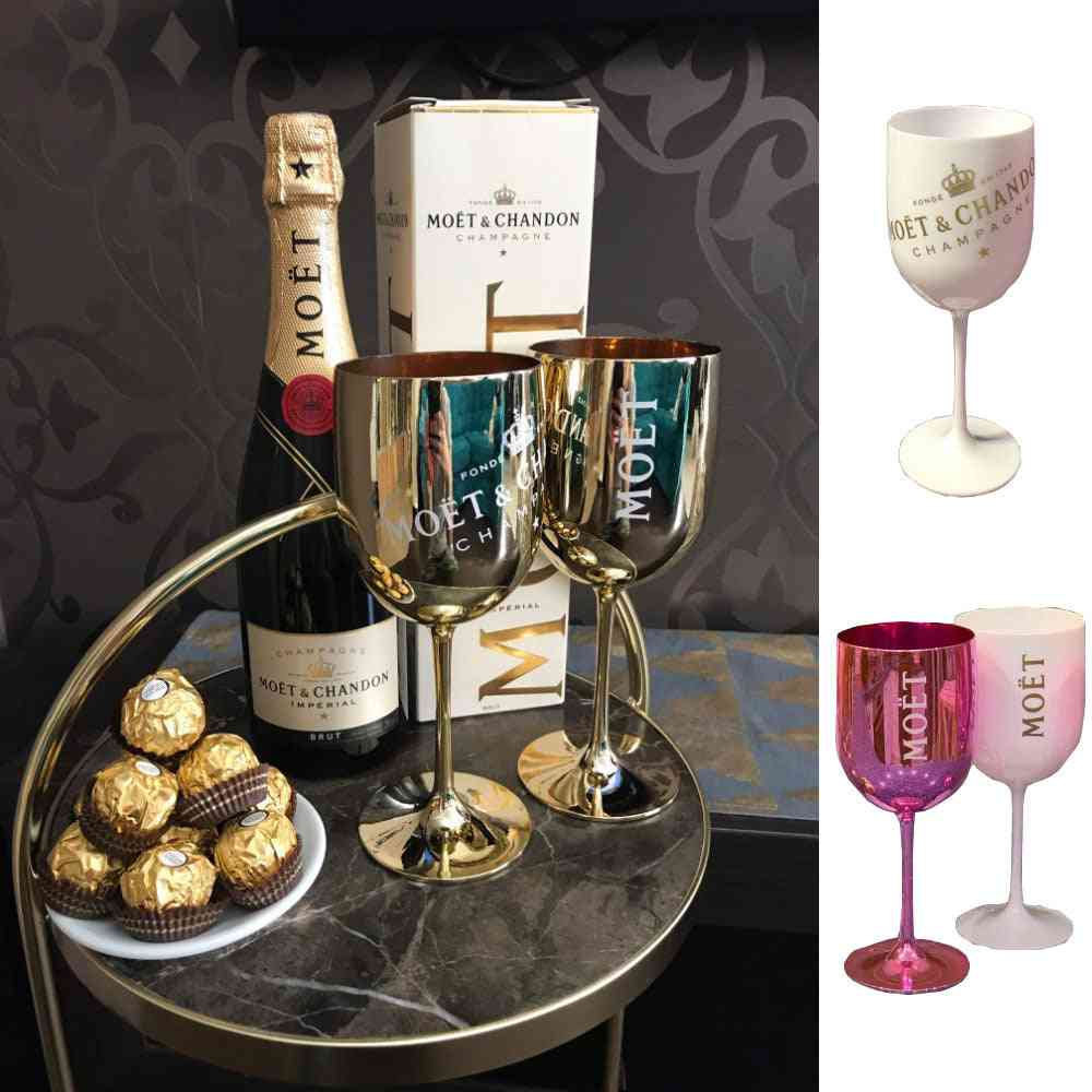 Round Champagne Coupes - Cocktail Glass With Plating