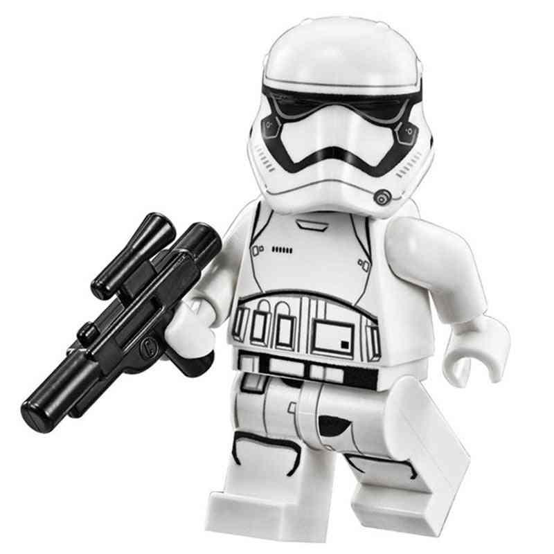 Nterlocking Blocks Building Sets - Starwars Action Figure Toy Fors