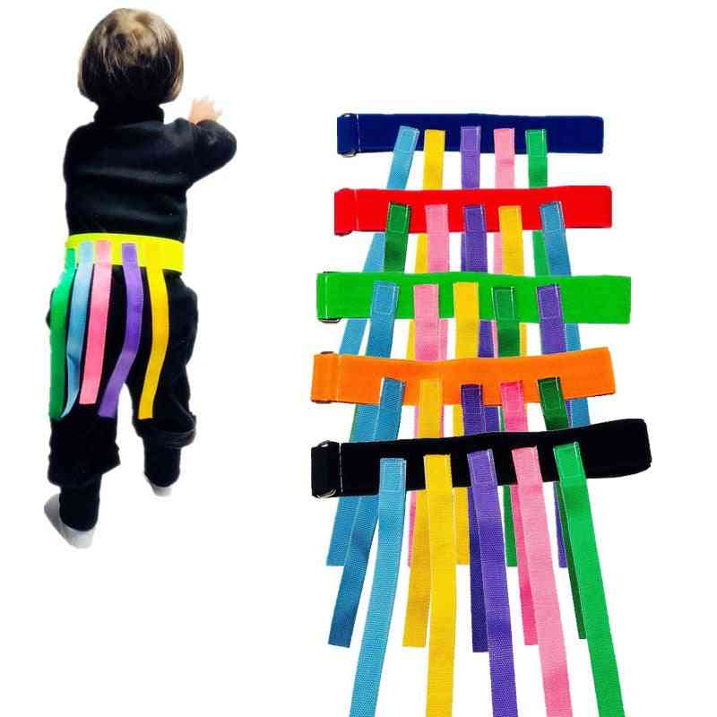 Children Outdoor Toy Catching Tail Belt