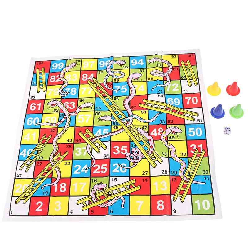 Interesting Portable Flying Chess Board - Family Party Game