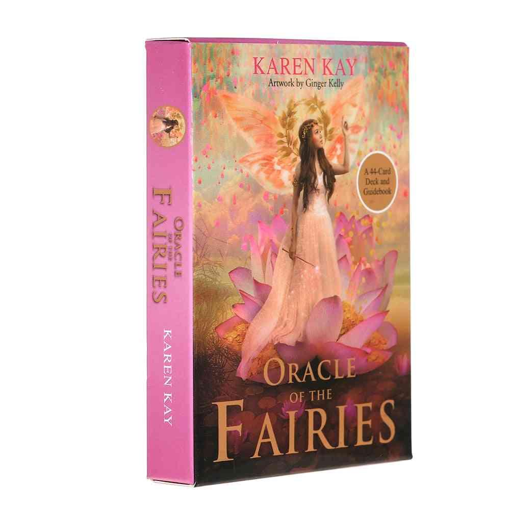 44 Pcs Oracle Tarot Cards - The Fairies Board Deck Games