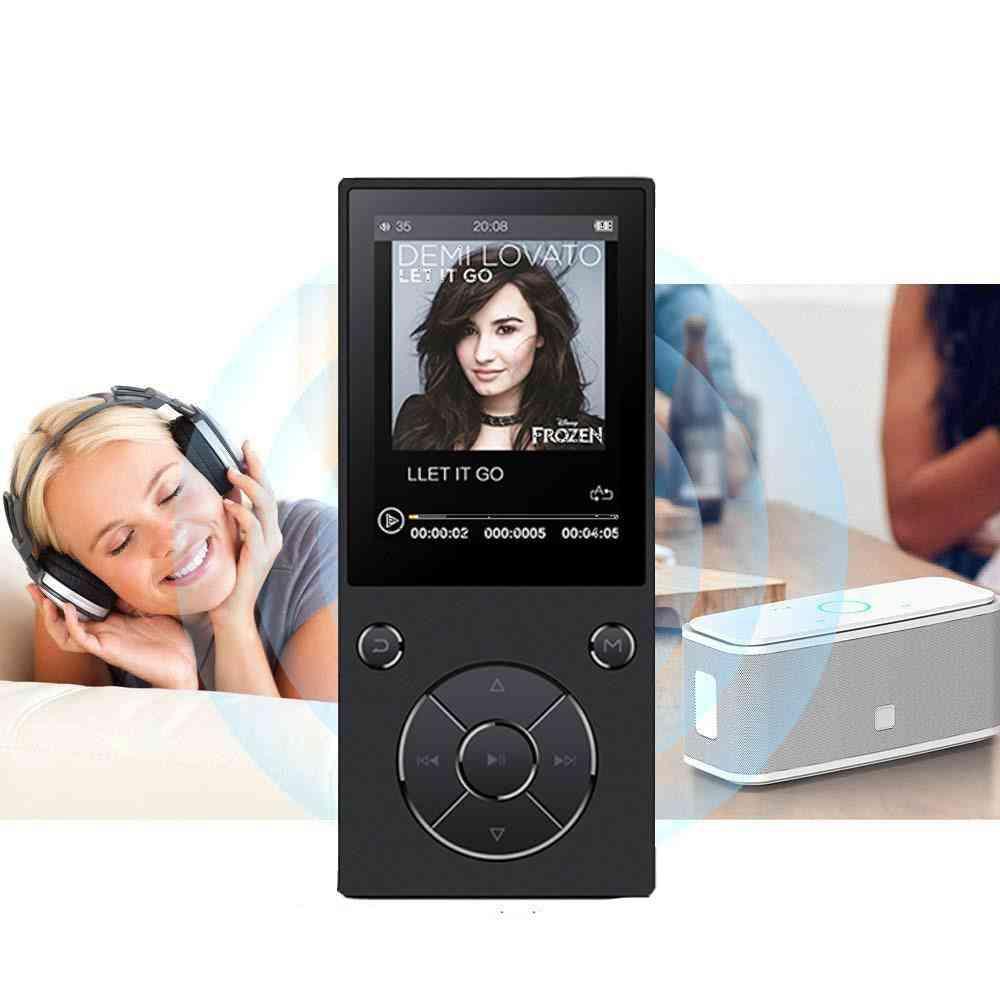 Advanced 4.0 Bluetooth, 2.4inch Hd Scrren-mp3player With Built-in Speaker