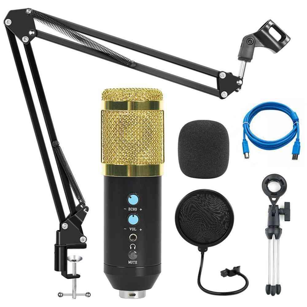 Bm 800 Studio Recording Condenser Podcast Microphone Kit For Pc Computer