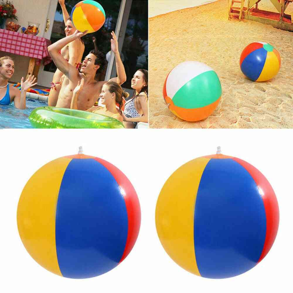 3 Size Beach Pool Play Ball For Kids -soft Early Learning