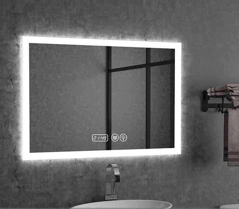Wall-mounted Smart Mirror With Led