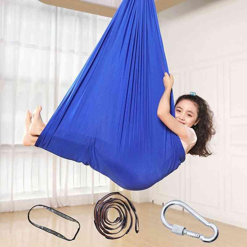 Soft Elastic, Cotton Hammock Swing For