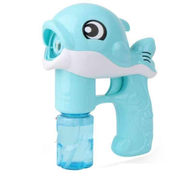 Light Up Dolphin, Magic Bubble Machine Summer Swimming