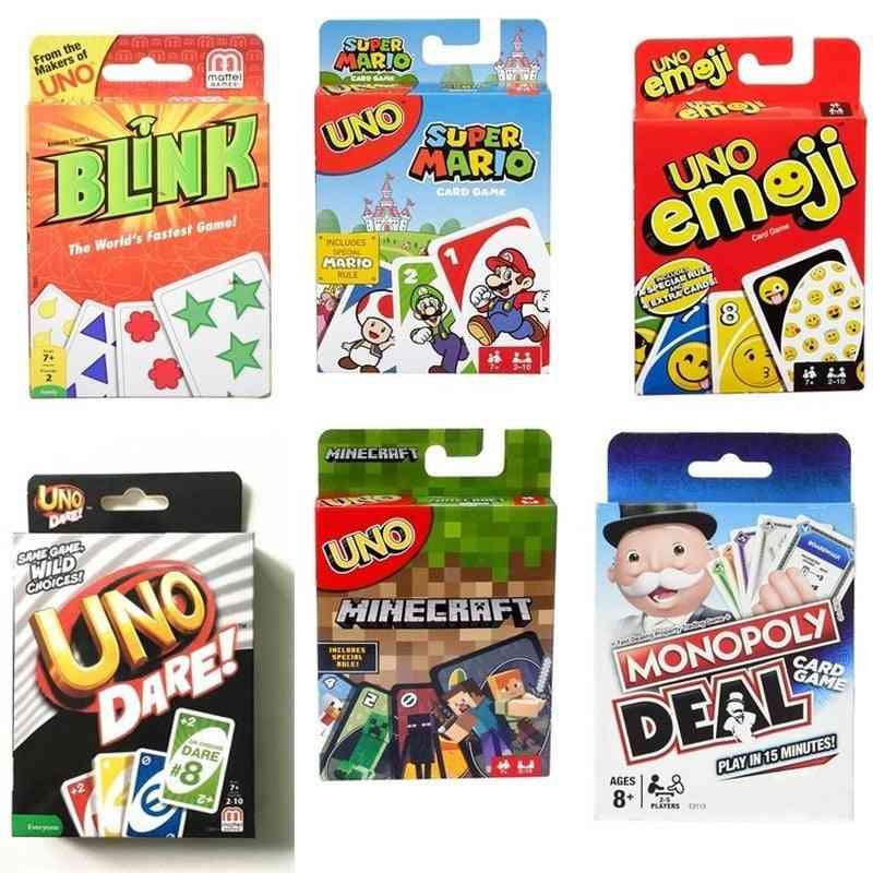 Uno Poker Board Puzzle Games Cards