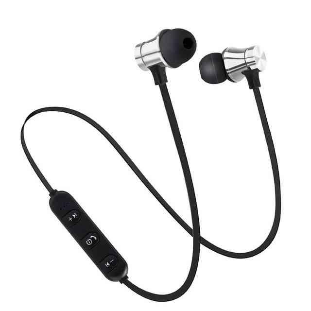 Magnetic Wireless Bluetooth 4.2 Earphone- Sport Running Wireless Bluetooth Headset For Smarphone