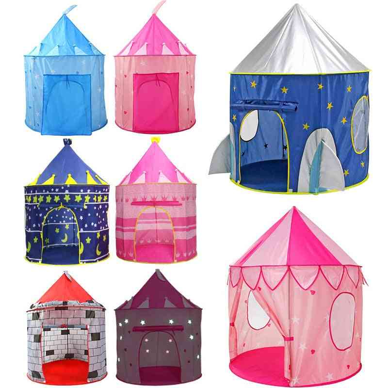 Portable Foldable - Castle Play House / Tent  For's