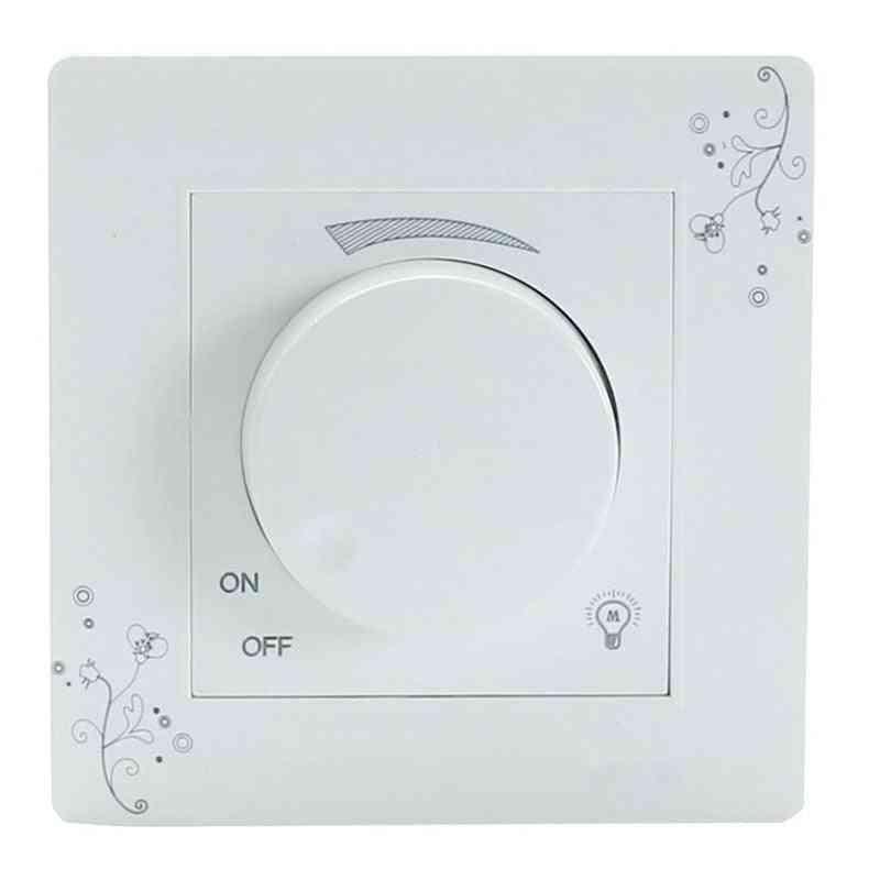 Adjustable Brightness, Luminosity Controller - Wall Lamp Light Dimmer Switch Panel