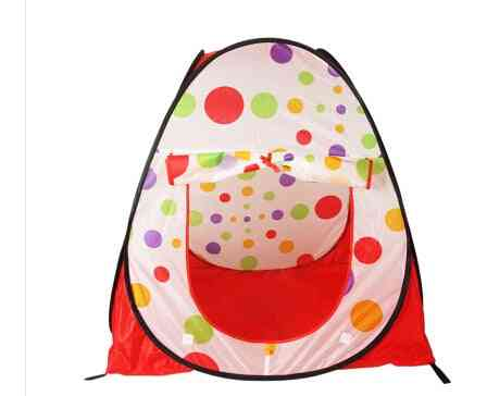 Large Portable Foldable Kids Pop Up Adventure Ocean Ball Play Tent Indoor Outdoor
