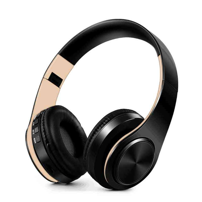 Foldable And Adjustable, Wireless Bluetooth Headset