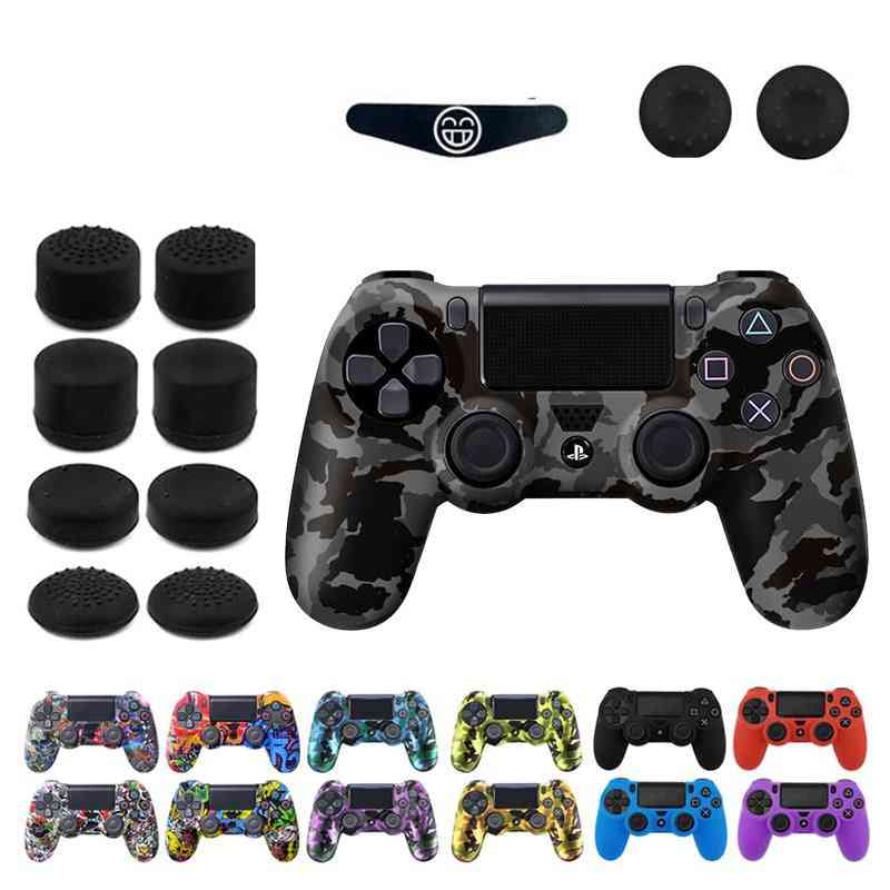 Silicone Gel Rubber Case Skin Grip Cover For Playstation 4