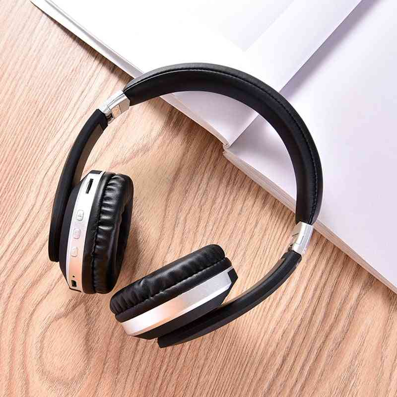 Wireless Headphones Bluetooth Headset - Foldable Stereo Gaming Earphones With Microphone