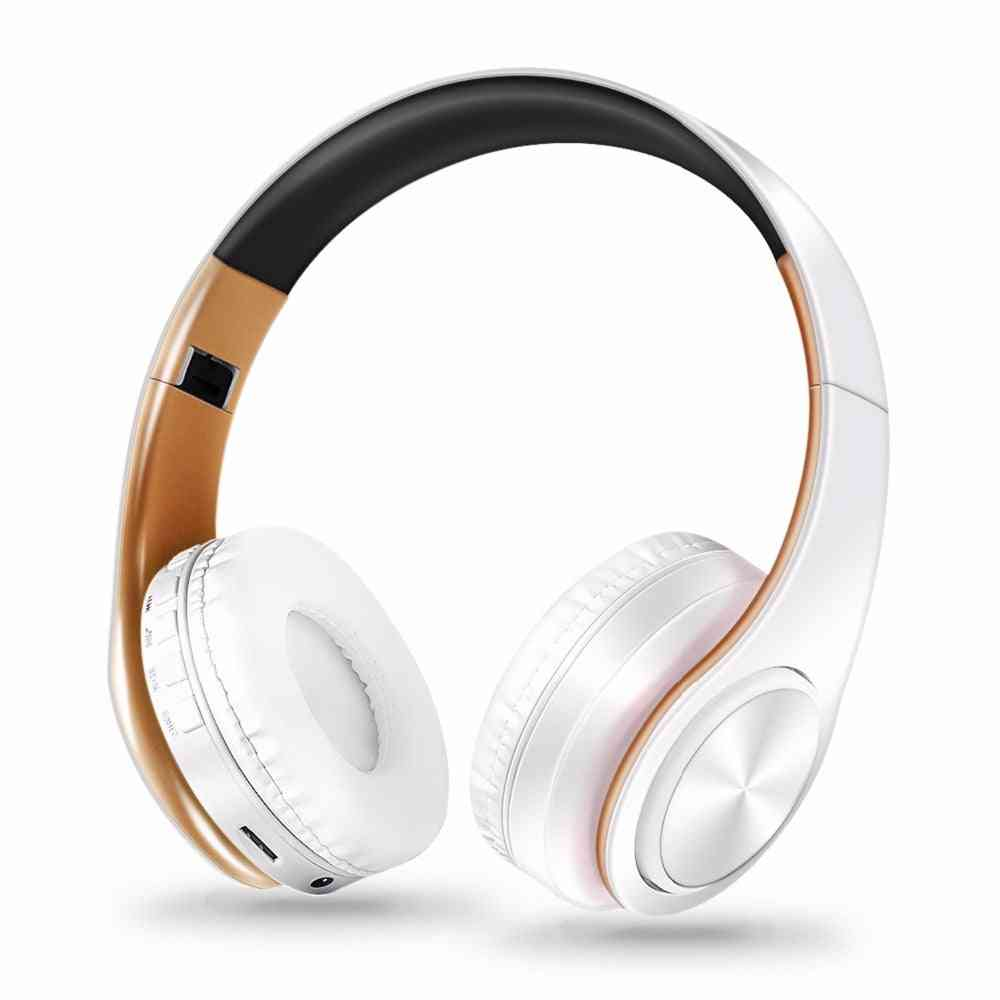 Bluetooth Headphones With Microphone Wireless Stereo Headset Music For Smartphone