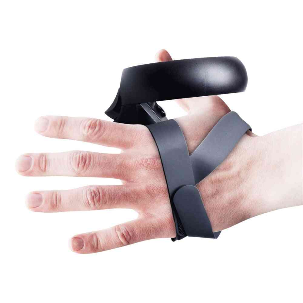 Touch Controller Grip Cover Case, Pu Knuckle Strap For Oculus Quest / Rift S Wrist Strap