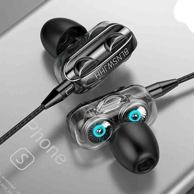 3.5mm In Ear Earphones Wired Headset Gamer