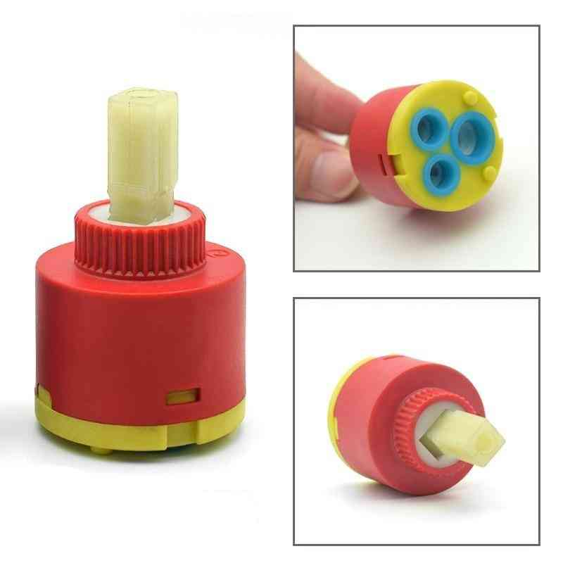 Ceramic Spool Water Mixer Tap, Cartridge For Kitchen, And Bathroom