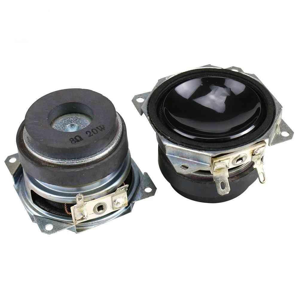 Speaker 8ohm, 20w Subwoofer Bluetooth Speaker For Deep Bass Loudspeaker, Long Stroke
