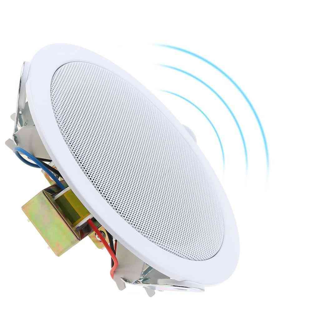 10w 5-inch Ceiling Speaker For Home, Supermarket-proffessional Public Address System