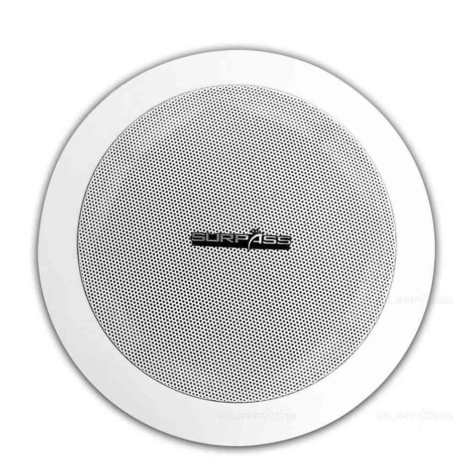 Home Music System Two-way Ceiling Speaker - Coaxial Input Loudspeaker For Bathroom