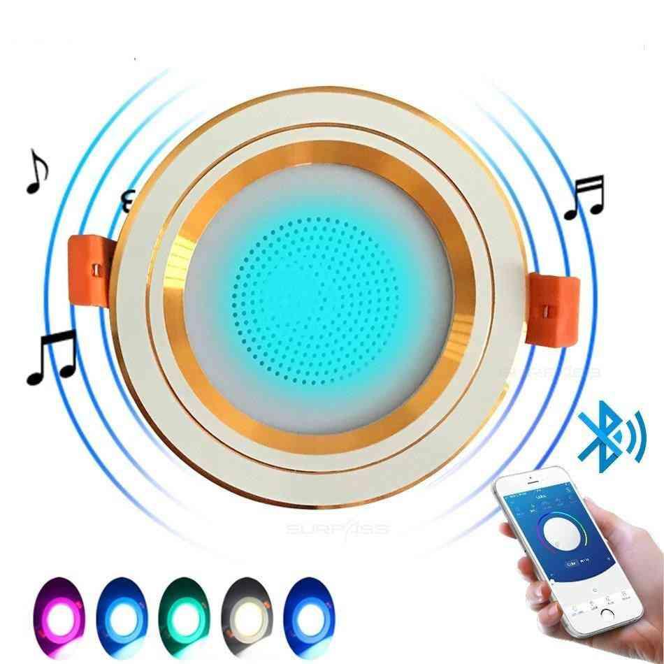 Smart Lamp Background Music Light In-ceiling Speakers