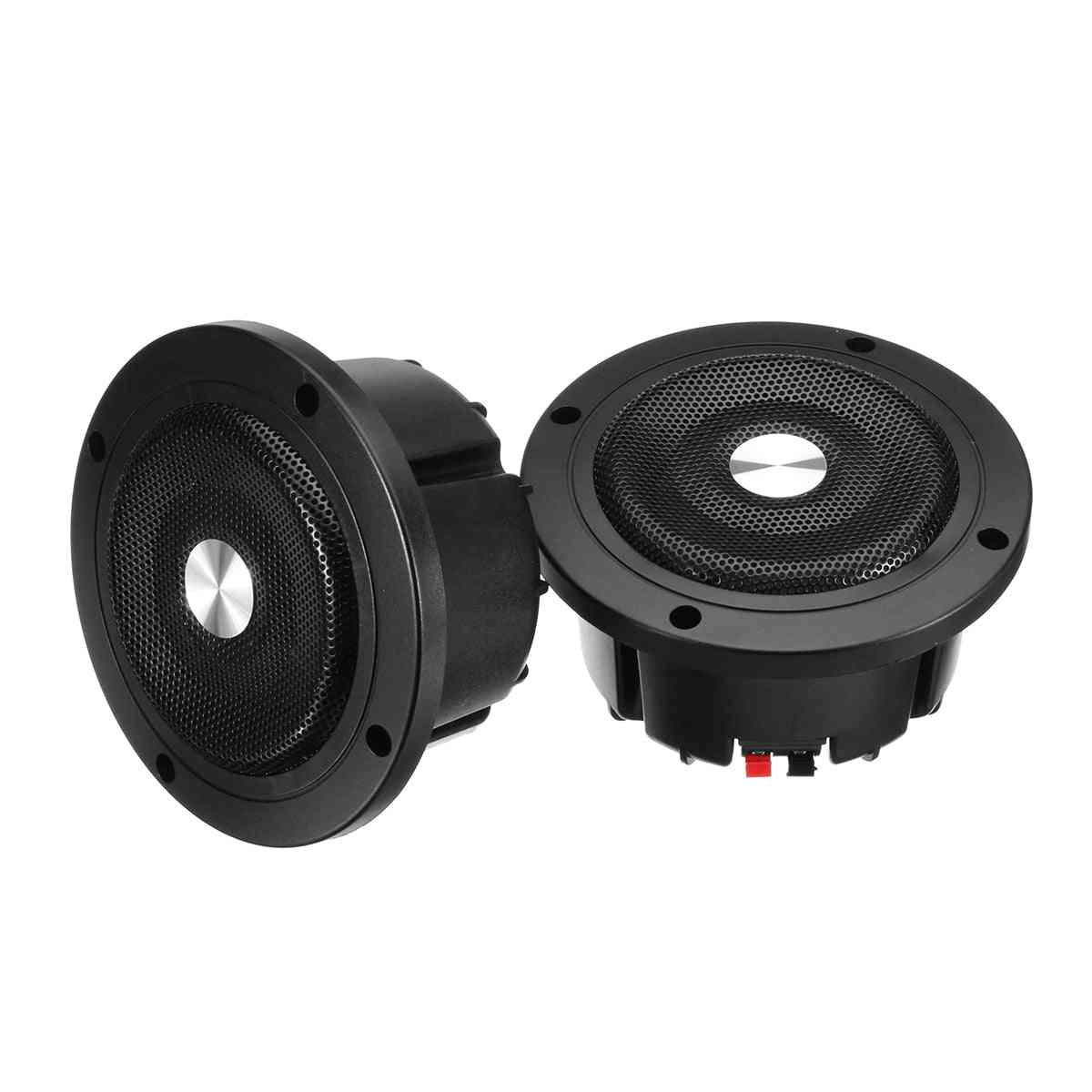 Round Ceiling In-wall Home Audio Speakers System - Flush Mount Speaker With Amplifier