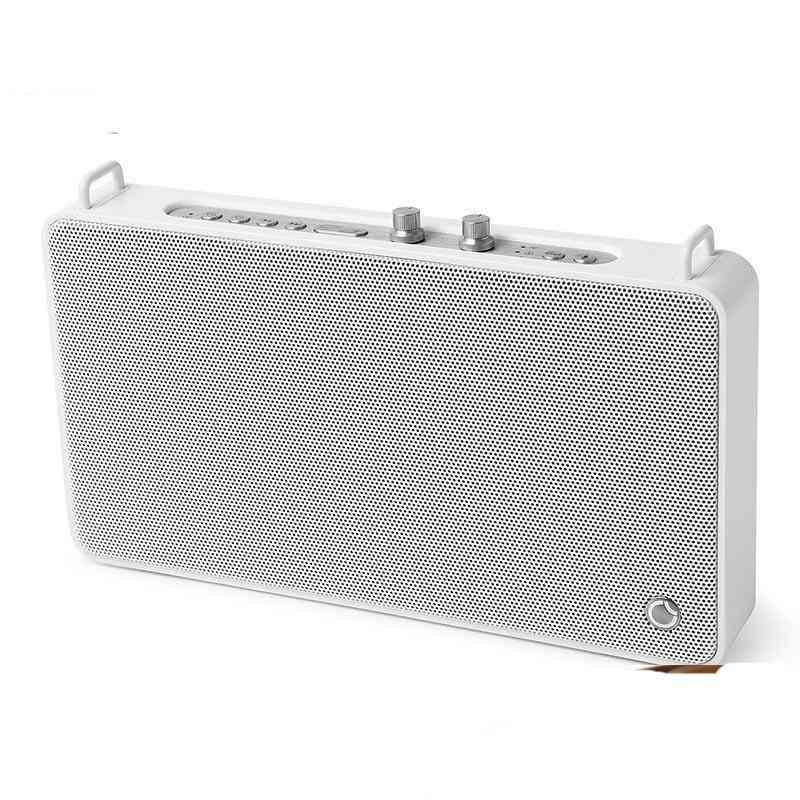 Bluetooth Speaker Portable Wireless, Hifi Stereo Speaker, 20w Loudspeaker For 4 Driver Sound Box With Mic