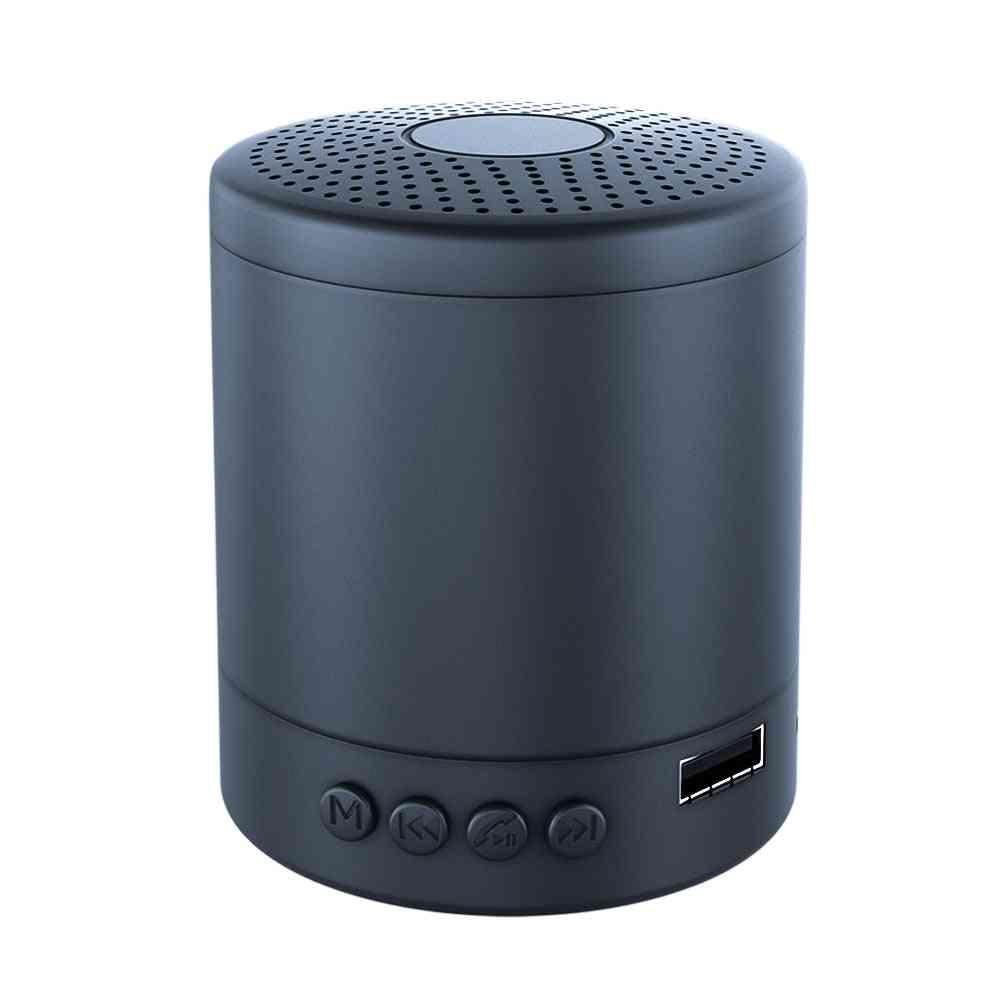 Portable Column Speaker Stereo For Mini Music Outdoor Waterproof