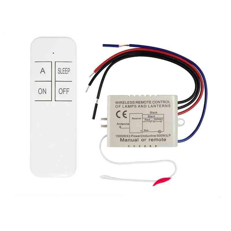 1/2/3 Way Relay Ac 220v Rf Remote Digital Wireless, Remote Control Switch, Ceiling Fan Panel Control Switch For Light Bulb