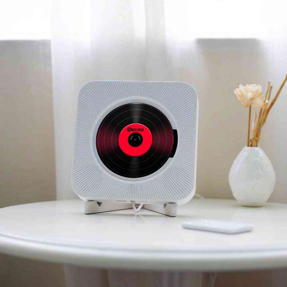 Amazing Rc Portable Bluetooth Cd Player -and  Wall Mountable Audio Boombox