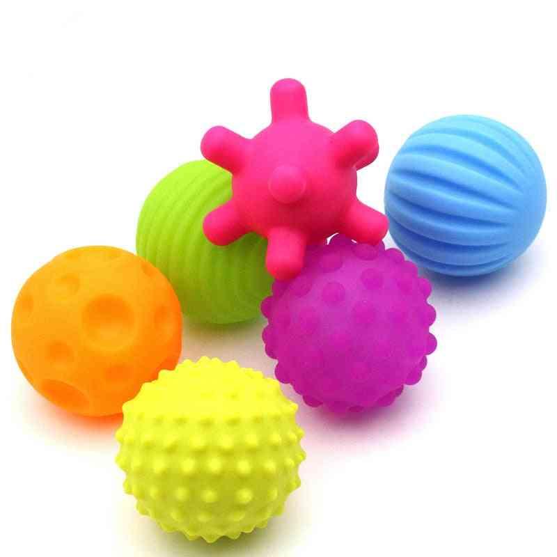 Children Ball Hand Sensory Rubber Toy, For Improving Kids Senses Touch
