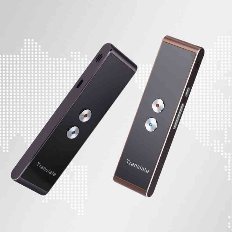 Portable T8 Smart Voice Speech, Two Way - Real Time 30 Multi Language Translation
