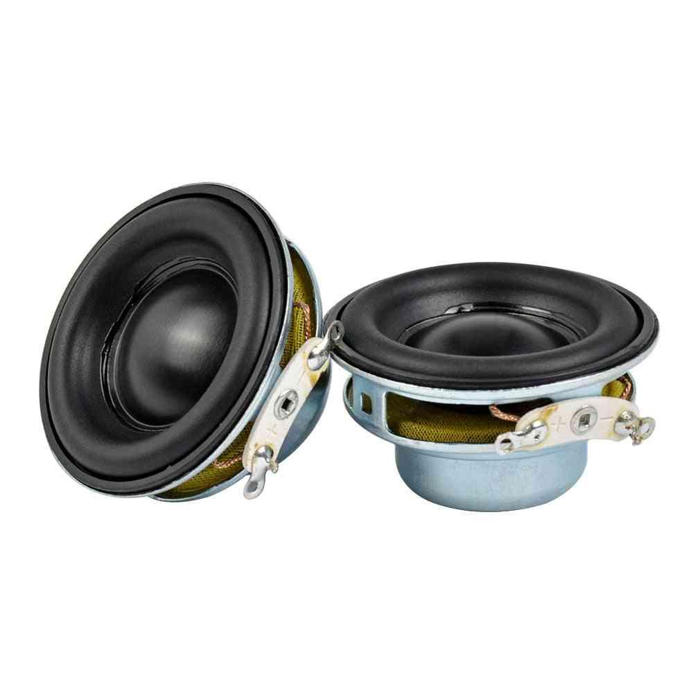 2pcs 5w 40mm Mini Audio Portable - Magnetic Loudspeaker