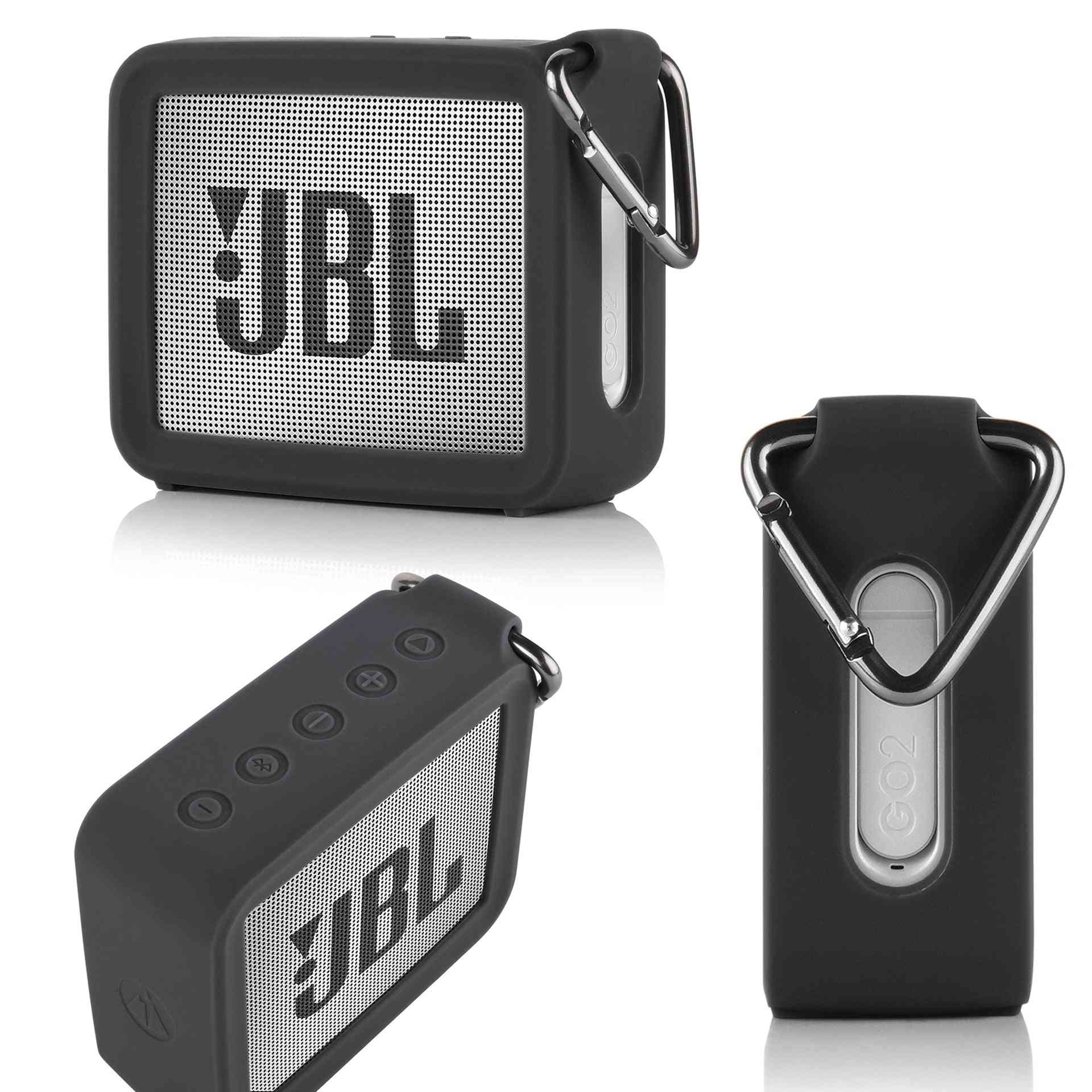 Portable Silicone Travel Case For Jbl Go2 Bluetooth Speaker