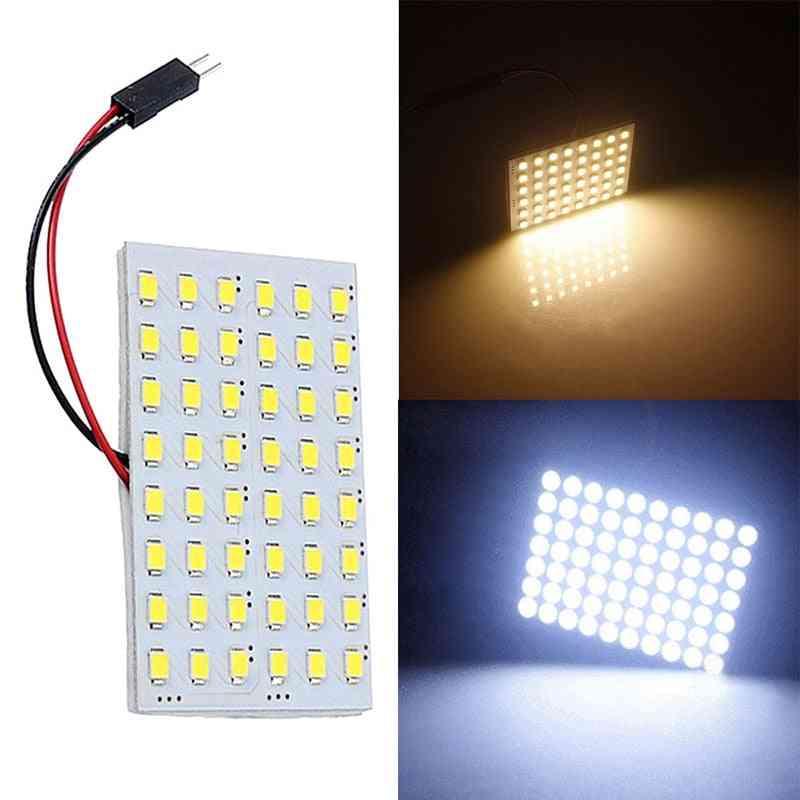 Led Panel Cob White Light Interior Dome Lamp Bulb