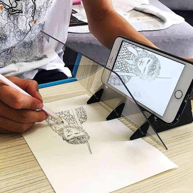 New Sketch Wizard Tracing Drawing Board - Optical Draw Projector Painting Reflection Table